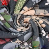 Coperta generale stampata resa personale della manovella del panno morbido di Micromink Sherpa