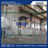 Planta de refinería del aceite de mesa de la planta del refino de petróleo de cacahuete de la alta calidad