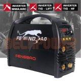 IGBT profissional 220V Hf/ Levantar/MMA máquina de solda TIG de Pulso do inversor