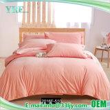 寮のためのEcoの友好的な綿の赤くおよび黒い寝具