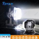60Вт светодиод фонаря рабочего освещения поиска беспроводной пульт дистанционного управления