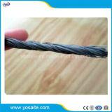Fibra Twisted del polipropilene pp per il rinforzo del calcestruzzo