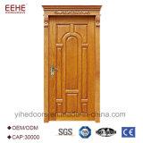 Madera de Teca maciza único diseño de la puerta del panel principal