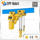 High Quality Hsy 1 Ton Electric Chain Hoist with Trolley