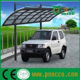 Policarbonato curvo de aluminio de techo Parking Parking arrojar