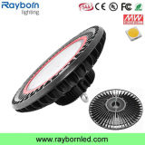 IP65 높은 루멘 100W 150W 200W UFO LED Highbay 빛