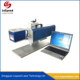 máquina de marcação a laser de CO2 portátil de metal não