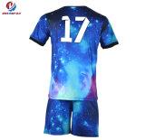 Kits deportivos a granel nuevo nuevo diseño personalizado de Manga Larga Camiseta de fútbol Camisetas de fútbol
