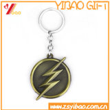 Comprimento personalizado formas de chave adorável Soft Chaveiro de metal com logotipo de esmalte