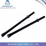 Tipo integral aço de broca Rod do formão da pata