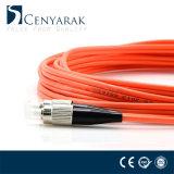 Duplex de 3 metros de cable de fibra óptica multimodo (50/125), FC a St.