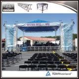 屋外コンサートの段階のアルミニウムトラステント