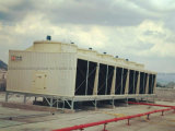 CTI zugelassener FRP Querfluss-rechteckiger Kühlturm