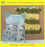 A roupa usada por atacado da primeira classe, roupa usada em umas balas de China, mão quente do Sell segundo veste-se (FCD-002)