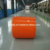 Tipo de RAL, Material de Aço, PPGI, RAL9002, bobina de aço com revestimento de cor