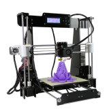 Impressora de alumínio de nivelamento promovida do composto 3D do tamanho 220X220X240mm Fdm DIY da cópia auto