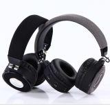 高いPeformance Permium Bluetoothの無線移動式ヘッドセット操作10mおよびぱりっとした澄んだ深い低音の音が付いているFMおよびTFのカード機能