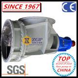 Pompe d'hélices horizontale de coude d'écoulement axial de qualité de la Chine