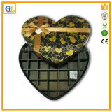 ハート形のボール紙のペーパーギフト用の箱(OEM-GL006)