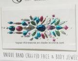 아름다움 메이크업 예술 가슴 스티커 혼합 색깔 속눈섭 당 (SR-45)를 위한 임시 귀영나팔 스티커