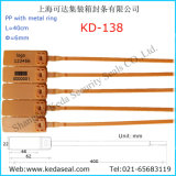 金属のリングを持つSello Plastico De SeguridadはKd-138を密封する