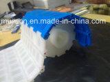 Hairise weißes POM Fieberhitze-Rasterfeld-modularer Riemen des Material-5936