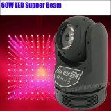 Bewegliches Hauptlicht des Stadiums-60W des Träger-LED