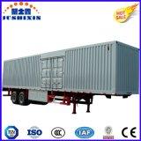 40-70 toneladas de carga forte Van Caixa Tipo de reboque