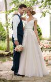 Amelie Rotsachtige 2018 Bruids Tulle een Kleding van het Huwelijk van de Lijn