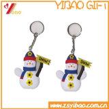 선전용 선물을%s 3D 만화 디자인 PVC Keychain
