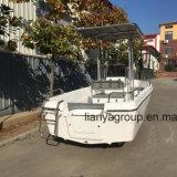 Fornecedores da pesca da fibra de vidro do barco do Panga de Liya 19feet