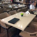 Настраиваемые Дубаи искусственный камень черный таблица быстрого питания в столовой