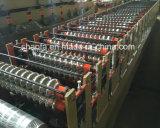Profil ondulé et IBR Double couche de feuilles de toit de l'Afrique de l'exportation de la machine