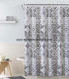 Дружественность к окружающей среде высокого качества цветочными орнаментами душ PEVA шторки