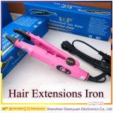 Beleza profissional do cabelo do ferro da extensão do cabelo