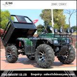 250cc Hummer ATV met de Apparatuur van Hoge Prestaties met de AchterAanhangwagen van de Kruk