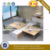 Forme de l Bureau exécutif du Bureau de mélamine Table (HX-8NR0282)