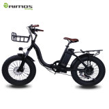 Bicicleta eléctrica barato plegable de China de la nueva grasa 20 ''