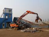 De hydraulische Schroot die van het Afval Lijnen verscheuren die de Ontvezelmachine van de Maalmachine van Machines recycleren