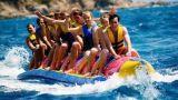 De Opblaasbare Boot van de banaan