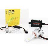 자동 6000K 고성능 LED 72W LED 차 전구를 점화하는 F2 LED 헤드라이트 LED 5000lm
