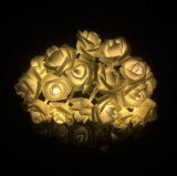 Christmas Decoration Rose Lantern Cluster LED Lights