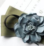 Última moda de alta calidad literaria Broche Rhinestone fresca pequeña para la mujer traje de corbata de seda Bowknot Brooch (CB-06)