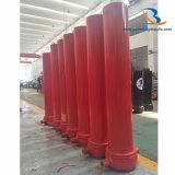 Cilinder van de Vrachtwagen van de Stortplaats van de douane de Telescopische Hydraulische voor Verkoop