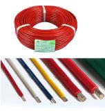 En caoutchouc silicone souple sur le fil électrique isolé