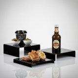 Opérations de approvisionnement personnalisées acryliques d'étalage de nourriture