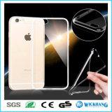 Caja clara ultra fina de la piel para el iPhone 7 de Apple