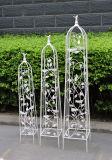 Hoher Eisen-BlumeObelisk für Garten-Dekoration