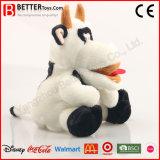 Vulde de Zachte Knuffel van de douane het Dierlijke Stuk speelgoed van de Koe van de Pluche voor Jonge geitjes/Kinderen