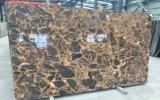 Usine professionnelle de marbre chinois Nice de couleur d'or pour l'hôtel